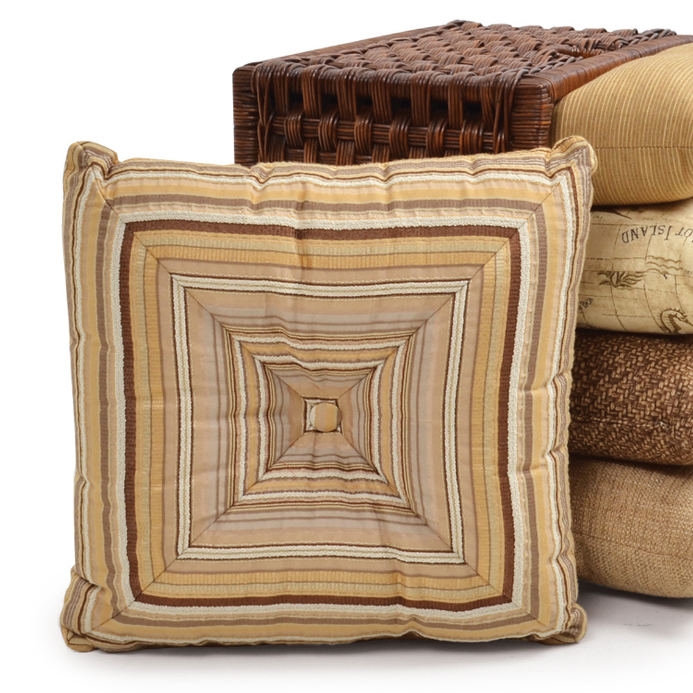 """WEDG 15"""" Square Wedge Toss Pillow"""