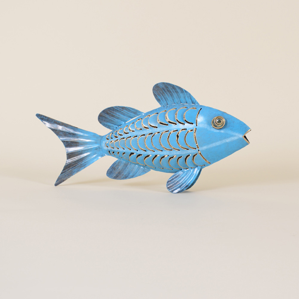 11-004 Iron Fish With 2 Fins
