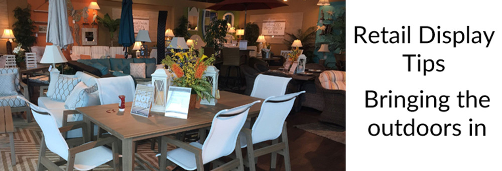 TIPS FOR A EYE-CATCHING OUTDOOR DISPLAY IN YOUR RETAIL SPACE