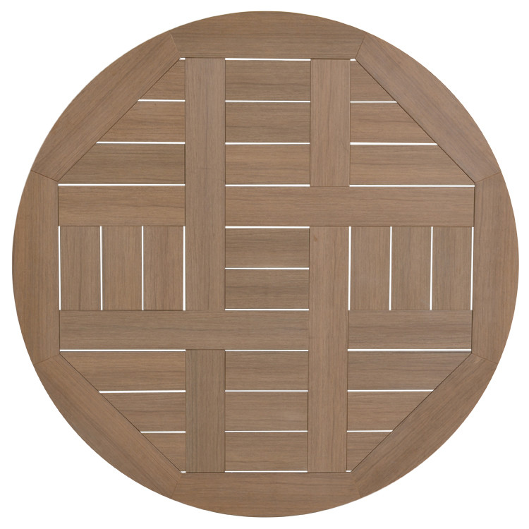 "651748T 48"" Round Dining Table Top"