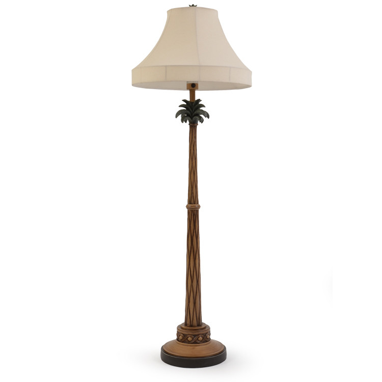 OUT-151FL,OA Palm Tree Outdoor Floor Lamp