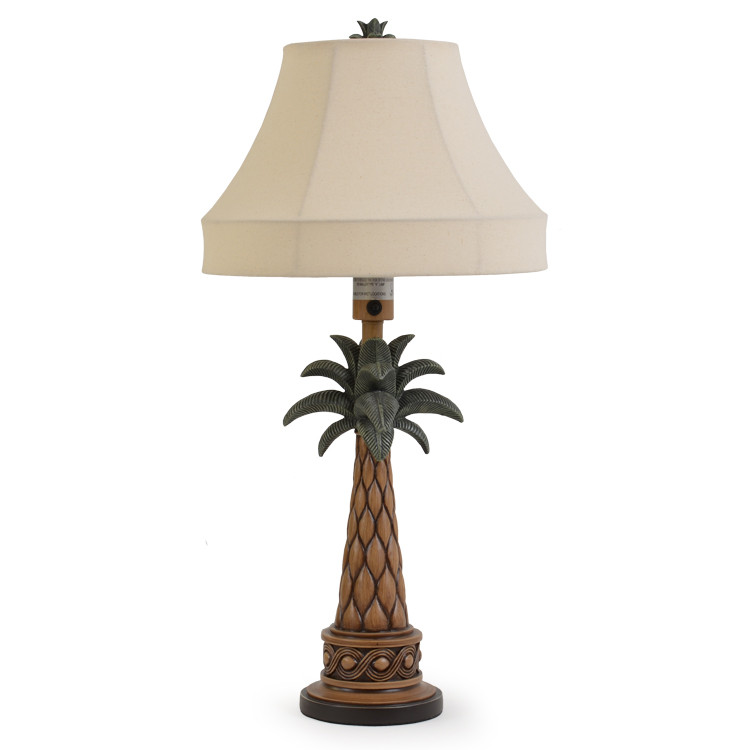 OUT-151TL,OA Palm Tree Outdoor Table Lamp