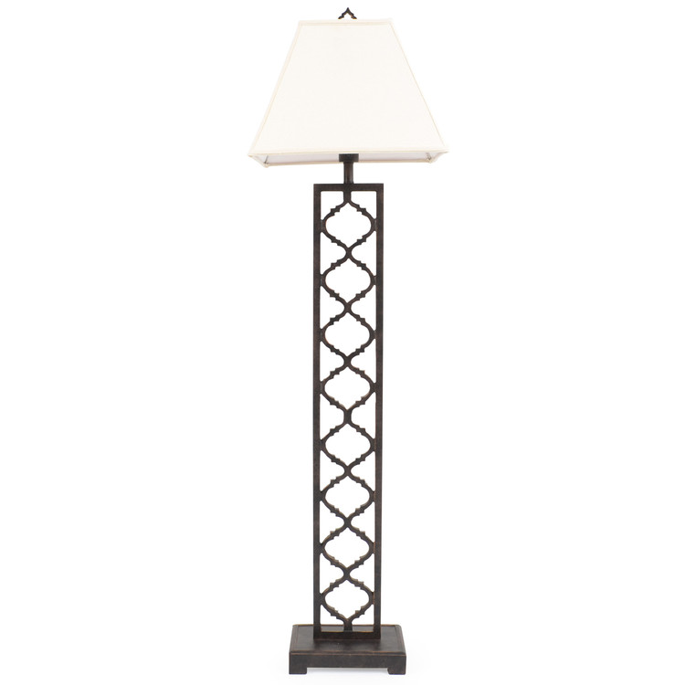 OUT-661FL Cast Style Outdoor Floor Lamp