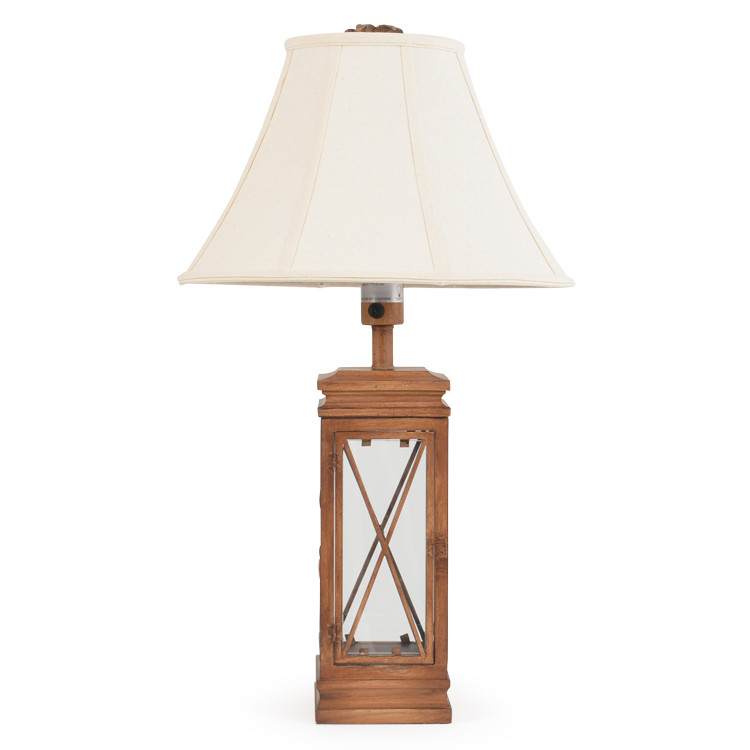 OUT-691TL Palm Tree & Cross Table Lamp