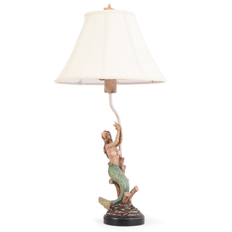 OUT-721TL Mermaid Table Lamp