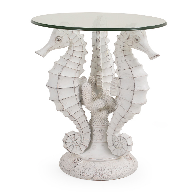 921ST Sehorse Side Table