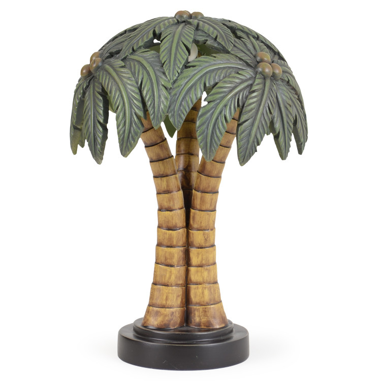 401TL Palm Tree Shade Novelty Lamp
