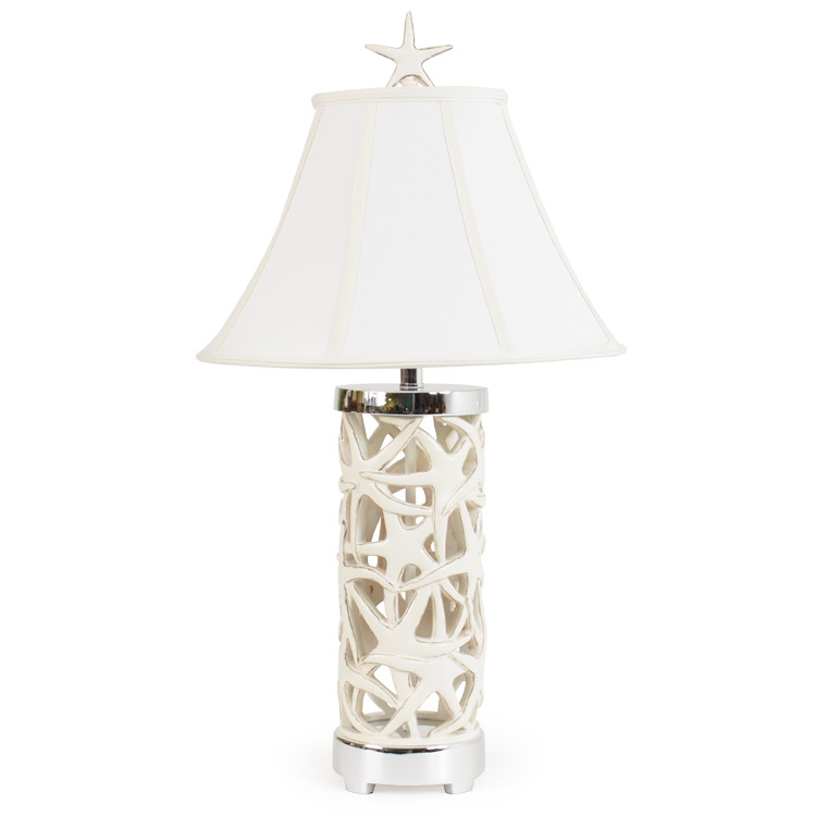 391TL Overlapping Starfish Table Lamp