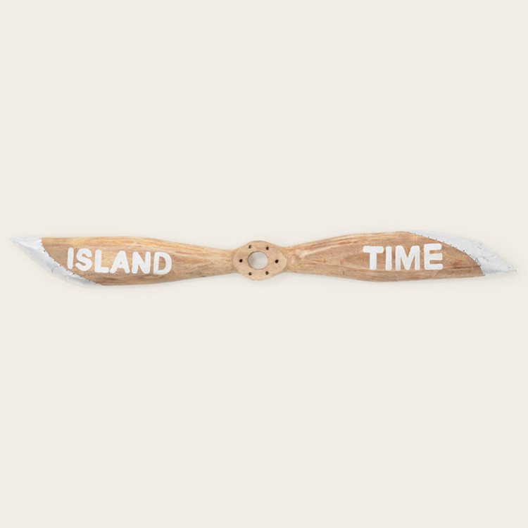 "16-145 ""Island Time"" Wooden Boat Propeller"