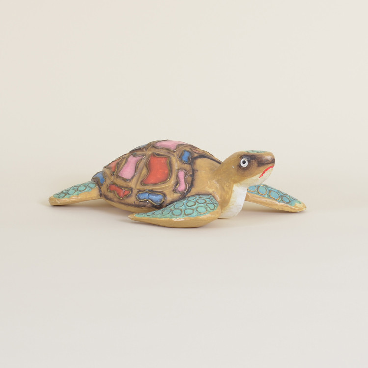04-97 Small Wooden Sea Turtle