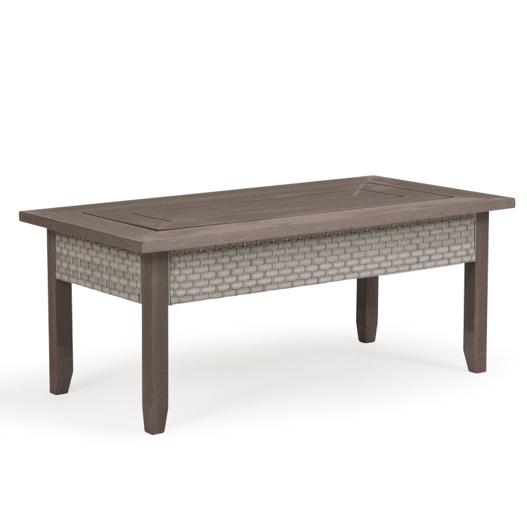 """641829 48""""x 25.5"""" Rectangle Cocktail Table"""