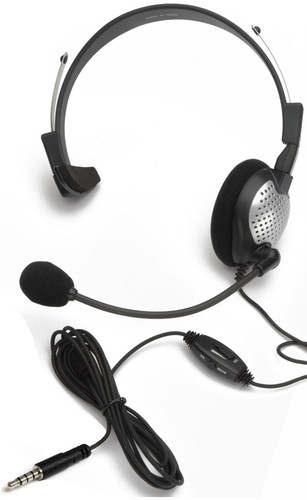 NC-181M On-Ear Mono (Monaural) Headset