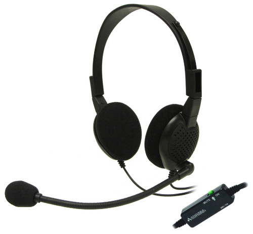 ANC-750L Stereo Analog PC Headset