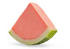 Watermelon Sorbet Wedge, made with real fruit, served in it's original fruit shell!