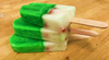 JUMBO Tricolor Pop  with refreshing green apple, lemon and strawberry sorbet!