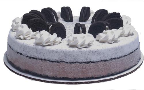"Gorgeous 10"" Cookies and Cream Ice Cream Cake"