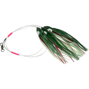 Daisy Chain Leader - Luminous Green with Red Stripe