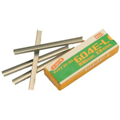 604E-L Max Staples for HTB-2 Tapener, 4800/Pack