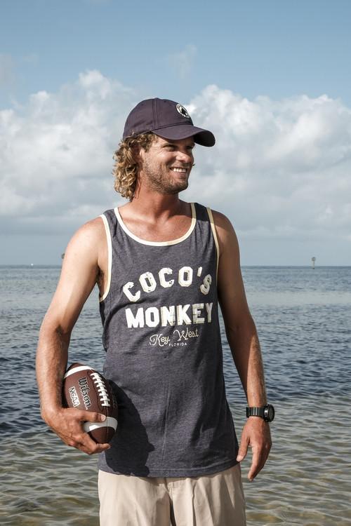CoCo's Monkey Chill Ringer Tank