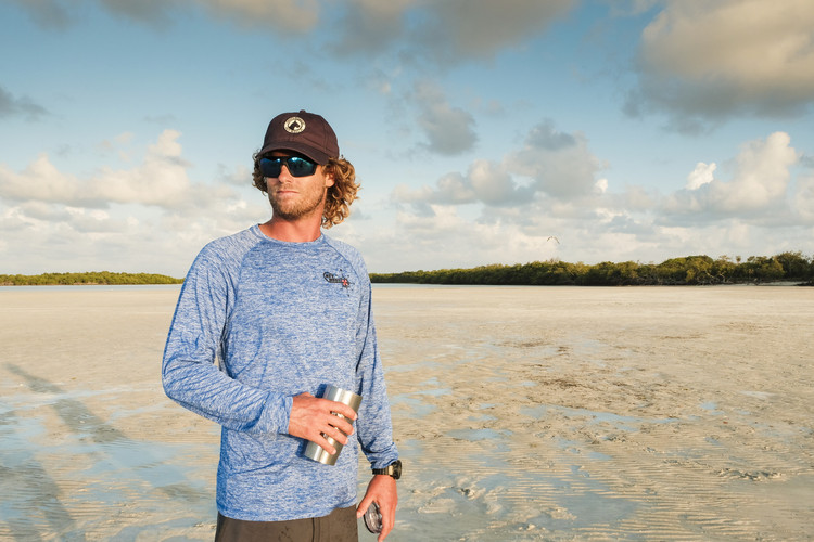 Key West Custom Tackle Electrify Shirt Royal Heather