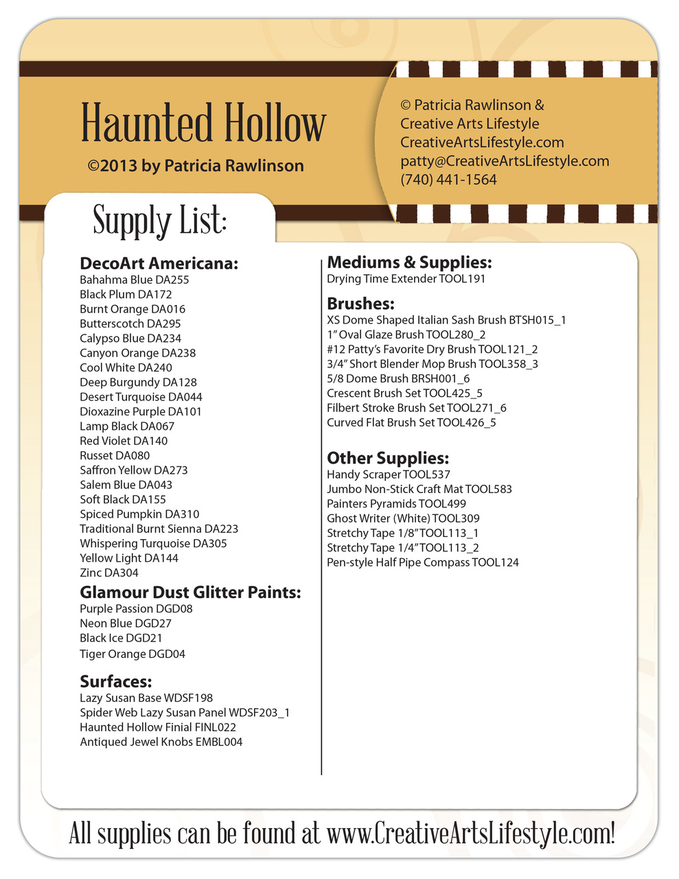 Haunted Hollow DVD & Pattern Packet - Patricia Rawlinson