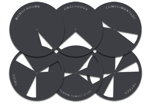 Color Wheel Masking Tool Set