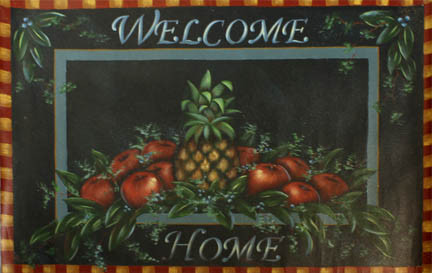 Welcome Home Floorcloth packet - Patricia Rawlinson