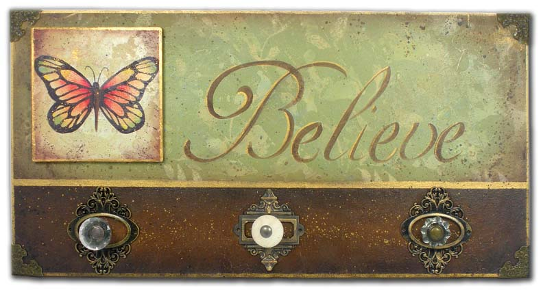 Butterfly Believe packet - Patricia Rawlinson
