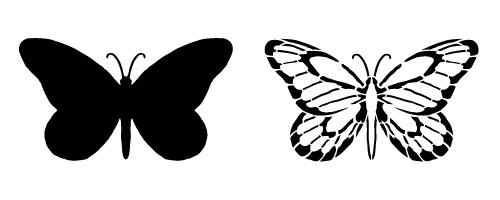 Butterfly Believe Butterfly Stencil