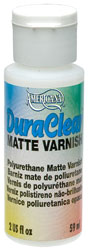 DuraClear Matte Varnish - 2 oz.