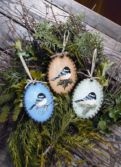 Chickadee Trio - E-Packet - Anita Morin