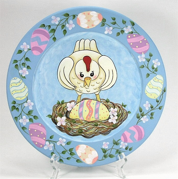 Easter Surprise Plate - E-Packet - Jeanne Bobish