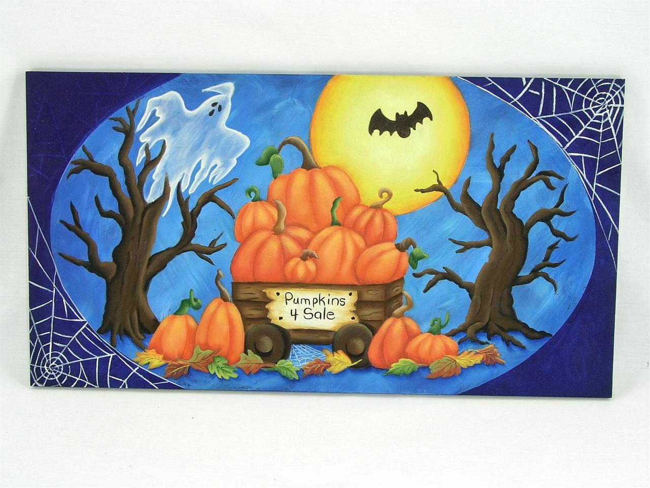 Pumpkins 4 Sale Plaque - E-Packet - Jeanne Bobish