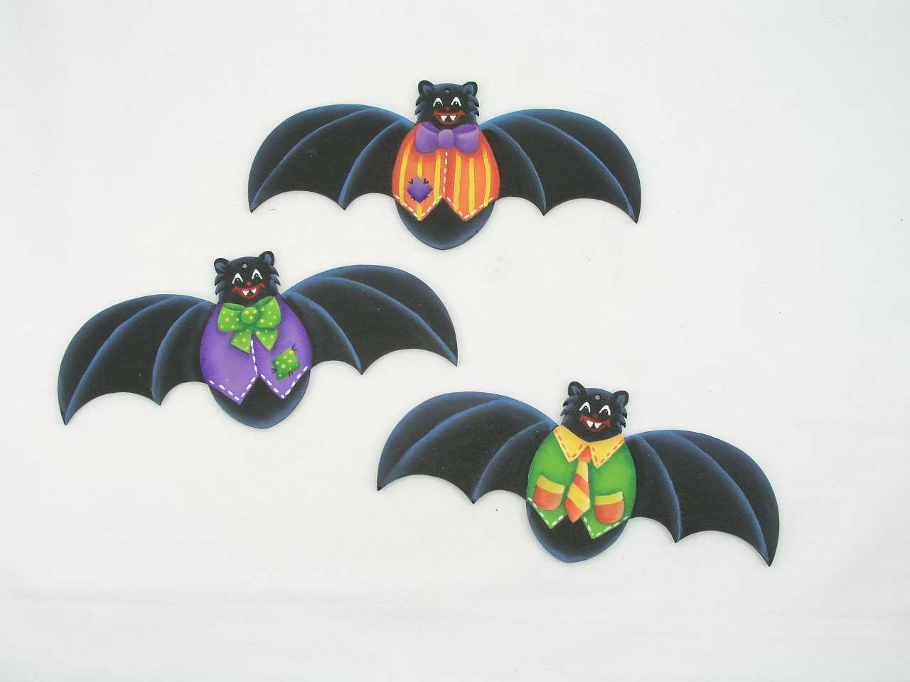 Bat Ornaments - E-Packet - Jeanne Bobish