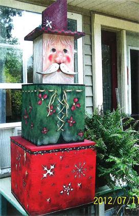 Stackable Santa - E-Packet - Sonja Richardson