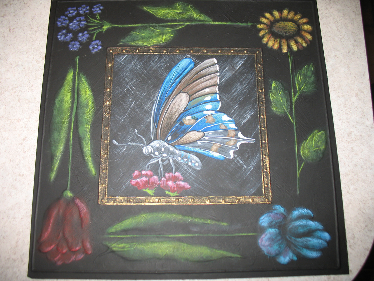 Butterfly and Flowers - E-Packet - Beverly Maitland