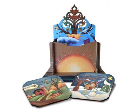 Four Season Coasters Set - E-Packet - Beverly Maitland