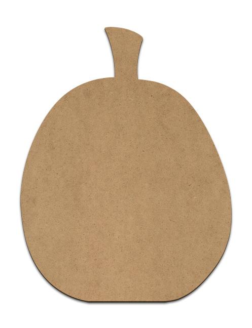 "Simple Pumpkin Plaque - 5.5 x 7.125"""