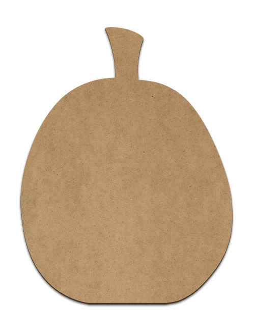 "Simple Pumpkin Plaque - 11"" x  14.25"""