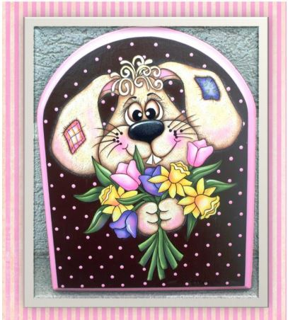 Bunny Bouquet E-packet - Sharon Cook