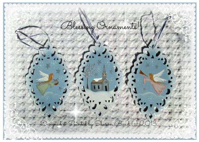 Blessing Ornaments - E-Packet - Sharon Bond