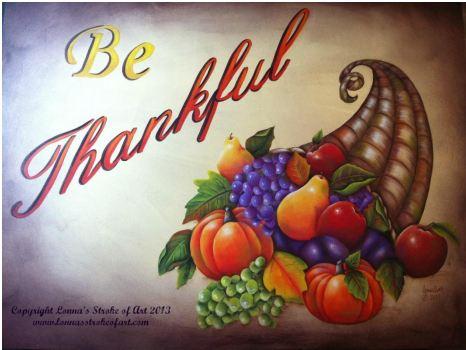 Be Thankful - E-Packet - Lonna Lamb