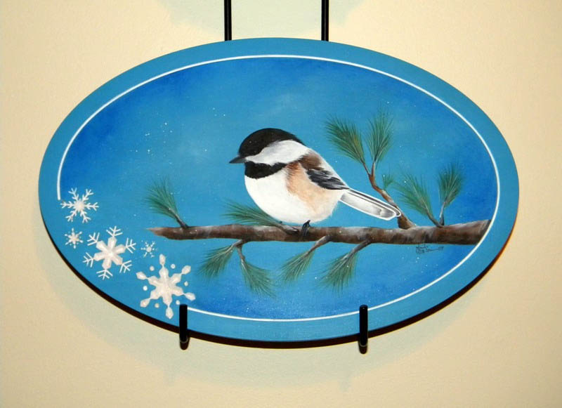 Winter Chickadee - E-Packet - Anita Morin