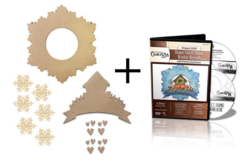 Home Tweet Home Winter Wreath Surface Set + DVD Combo