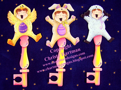 Jump For Joy Easter Ornaments - E-Packet - Christy Hartman