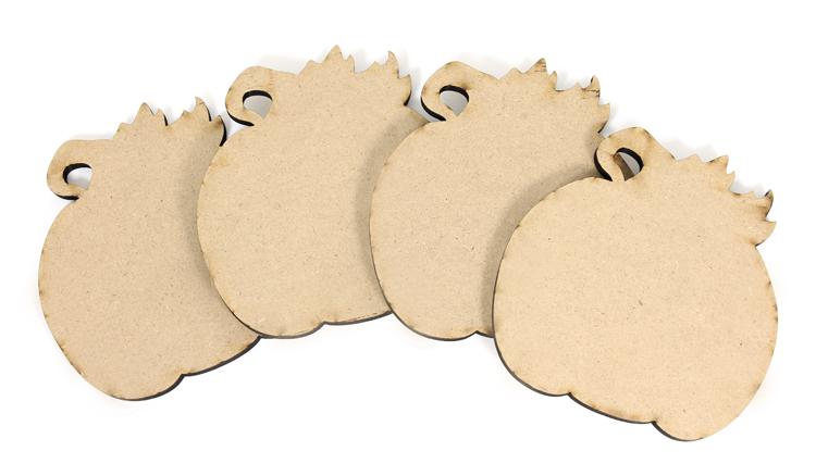 Pumpkin Coasters - Set of 4