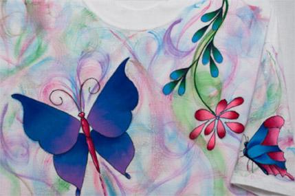 Butterfly Swirl E-packet - Debra Welty