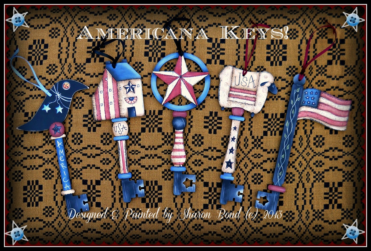 Americana Keys - E-Packet - Sharon Bond