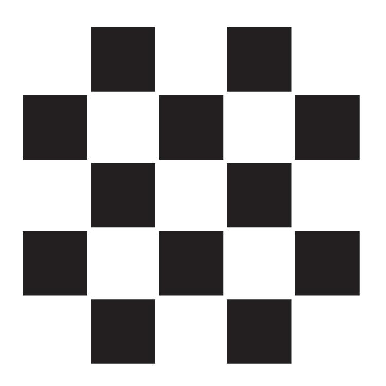 """1"""" Checks - Pattern Stencil - 6"""" x 6"""""""