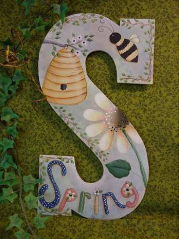 """S"" for Spring E-packet - Betty Bowers"